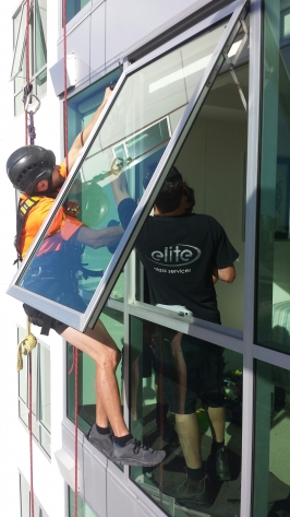 High Rise Glass Installation And Replacement Sunshine Coast